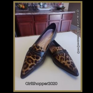 Pretty Leopard Pointed Flats